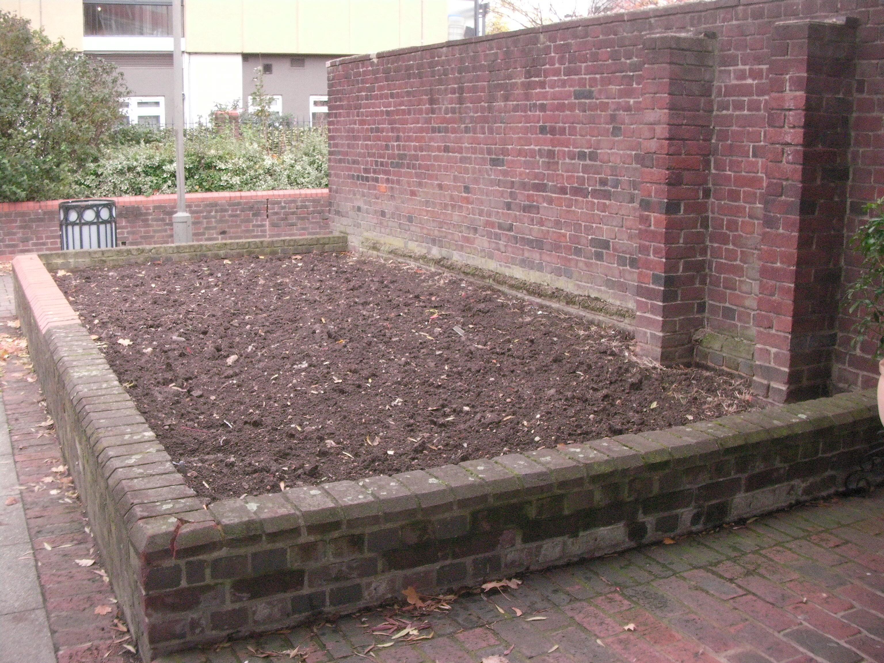 Herb Garden planting area